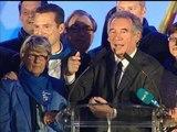 Municipales 2014 à Pau: quand François Bayrou débute de manière improbable son discours - 30/03