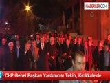 CHP Genel Başkan Yardımcısı Tekin, Kırıkkale'de