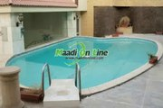 Triplex penthouse with pool for rent semi furnished in maadi sariaat
