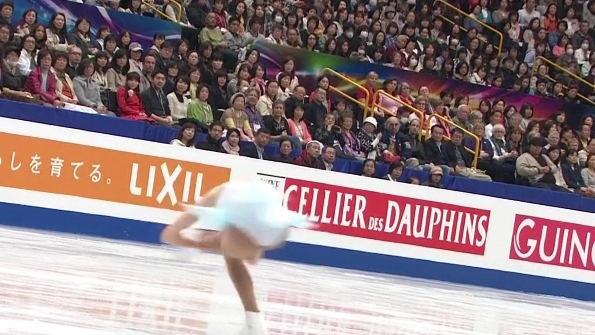 Polina Edmunds - Figure Skating World Championships Saitama 2014