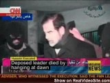 Saddam's Last Moments