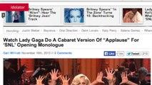 Spinmedia - Lady Gaga and R Kelly Get Naughty On Saturday Night Live