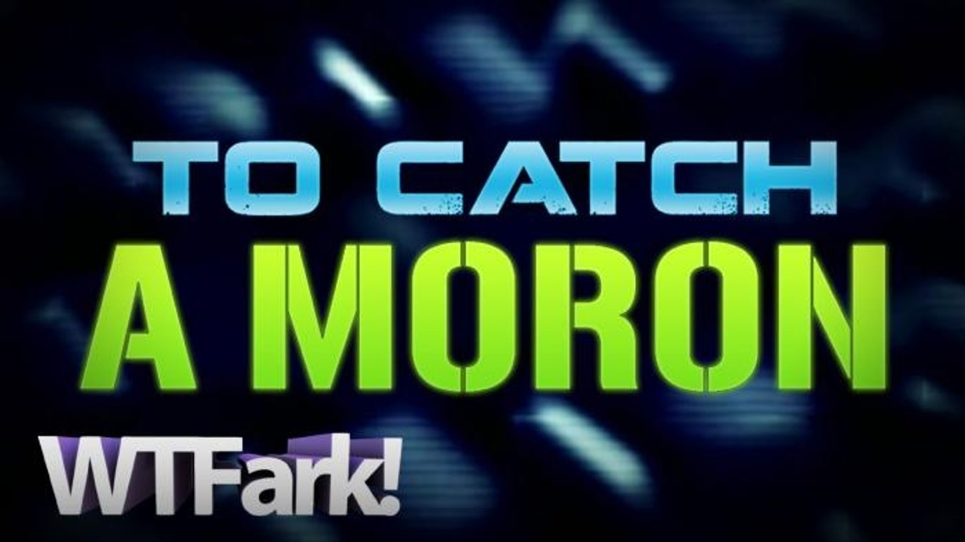 TO CATCH A MORON: Crook Caught After He Drops ID During Robbery, CAUGHT ON TAPE! LIVE! EXCLUSIVE! ON