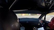 Quentin Gilbert au volant de la Citroën C4 WRC au Rallye du Touquet