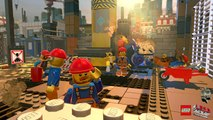 CGR Undertow - THE LEGO MOVIE VIDEOGAME review for Nintendo Wii U