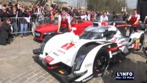 La nouvelle Audi R18 e-tron quattro (Le Mans)