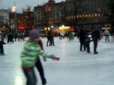 Happy new year from Helsinki central ice