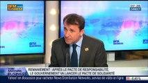 """Pacte de solidarité face au pacte de responsabilité: """"Il faut d'abord terminer le pacte de responsabilité"""", Thibault Lanxade, dans GMB – 01/04"""