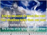 Karaoke songs online with lirycs on the screen. Led Zeppelin Stairway to Heaven