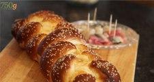Recette du Pain de Shabbat juif ou Hallot- 750 Grammes