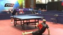 Incroyable point au tennis de table de Cristian Dettoni