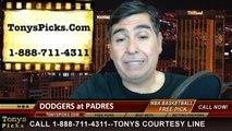 MLB Pick San Diego Padres vs. LA Dodgers Odds Prediction Preview 4-1-2014