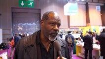 Rencontre avec l'acteur Jean-Michel Martial au Salon du livre de Paris avec le ministère des Outre-mer
