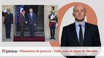 #tweetclash : #Passation de pouvoir : Valls, sous le signe de Mendès