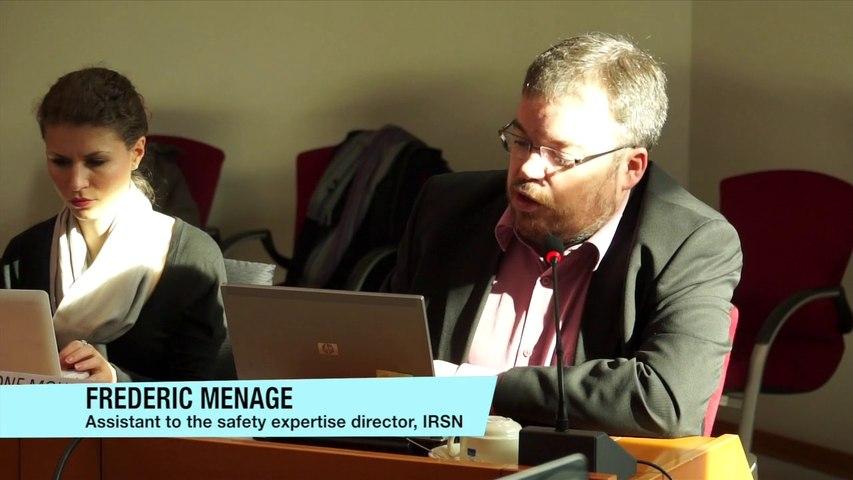 Ageing of nuclear plants seminar - Frédéric Ménage, IRSN