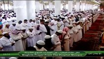1st April 2014 Madeenah Maghrib led by Sheikh Hudhaify