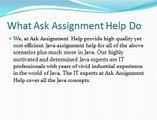 Java Assignment Help | Java Coursework Help | Java Homework Help | Java Online Exam Help