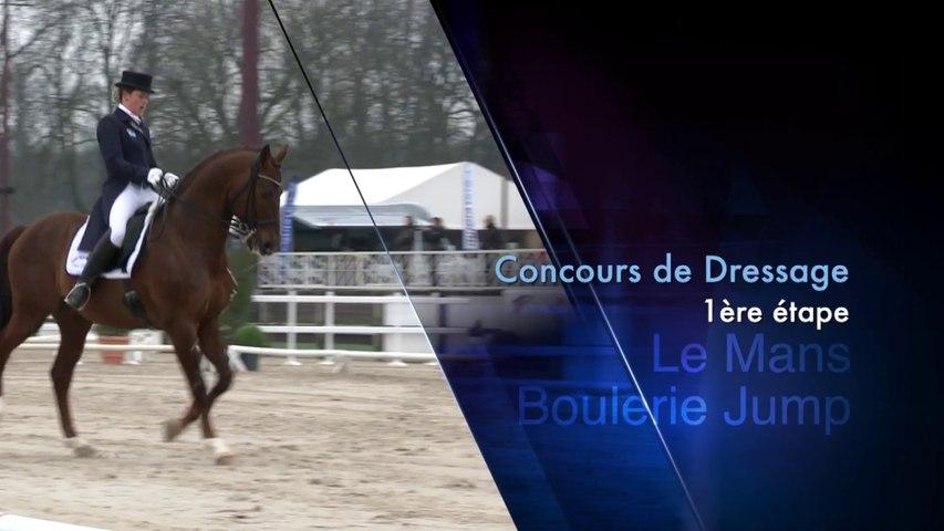 Grand National 2014 de dressage - Etape N°1 au Mans