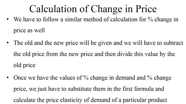 Price Elasticity Of Demand Video Dailymotion
