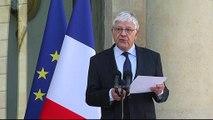 L'annonce du nouveau gouvernement de Manuel Valls