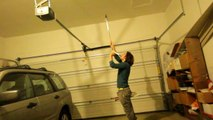 Juggler Balances Knives on Face While Juggling Even More Knives