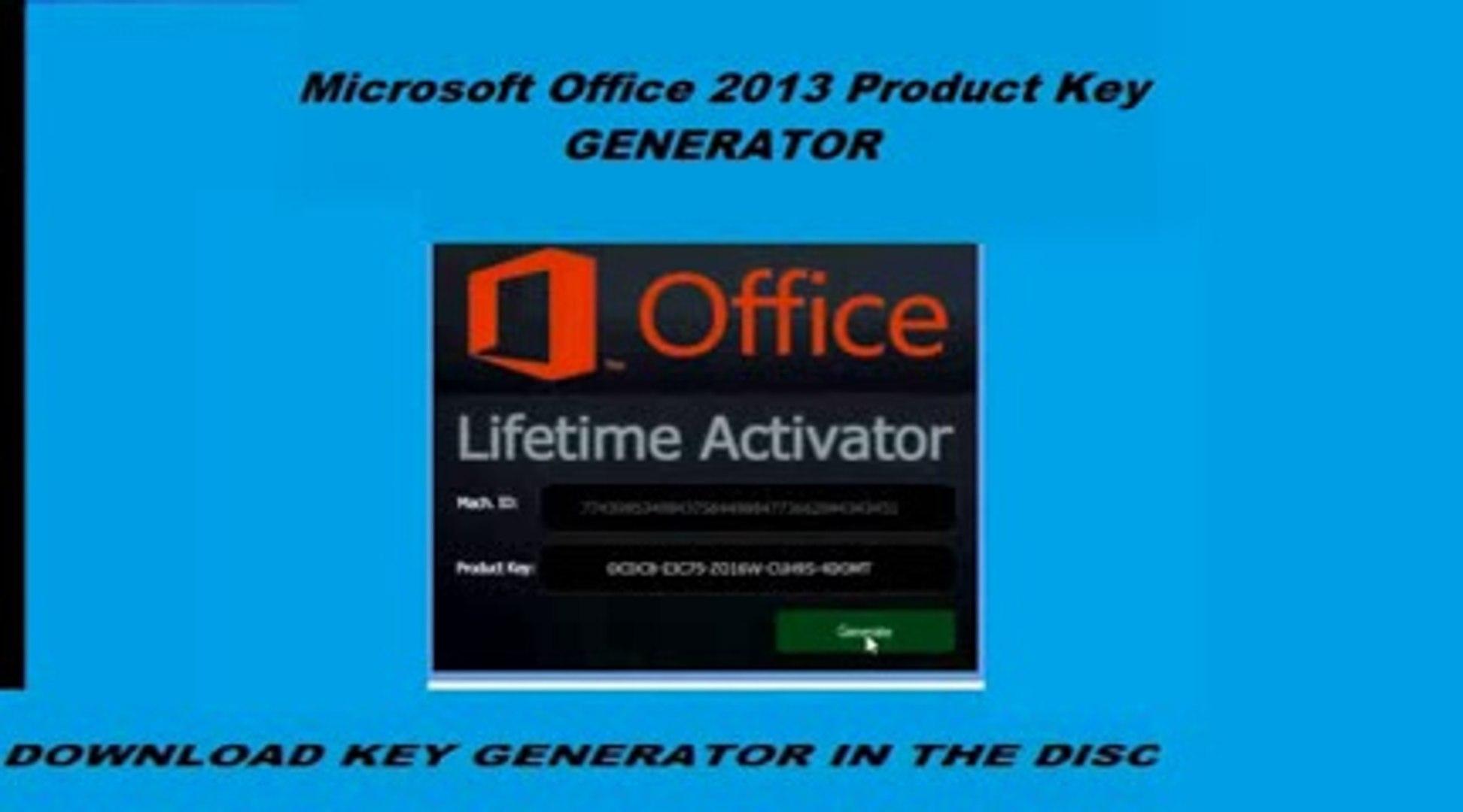 microsoft office 2013 product key generator download
