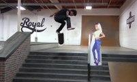 Lakai Earl Sweatshirt with Nakel Smith - Skateboarding