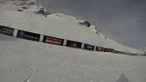FWT14 - Run of Bib #4 Amber Schuecker AUS - Xtreme Verbier 2014