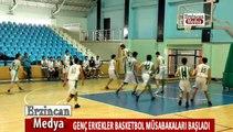 Genç Erkekler basketbol müsabakaları başladı