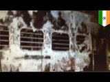Nine dead after fire breaks out on Indian express train