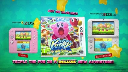 Kirby Triple Deluxe : Trailer 02/04/14 de Kirby Triple Deluxe