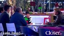 """Laurent Delahousse dans """"C à vous"""" le 10 décembre 2013"""