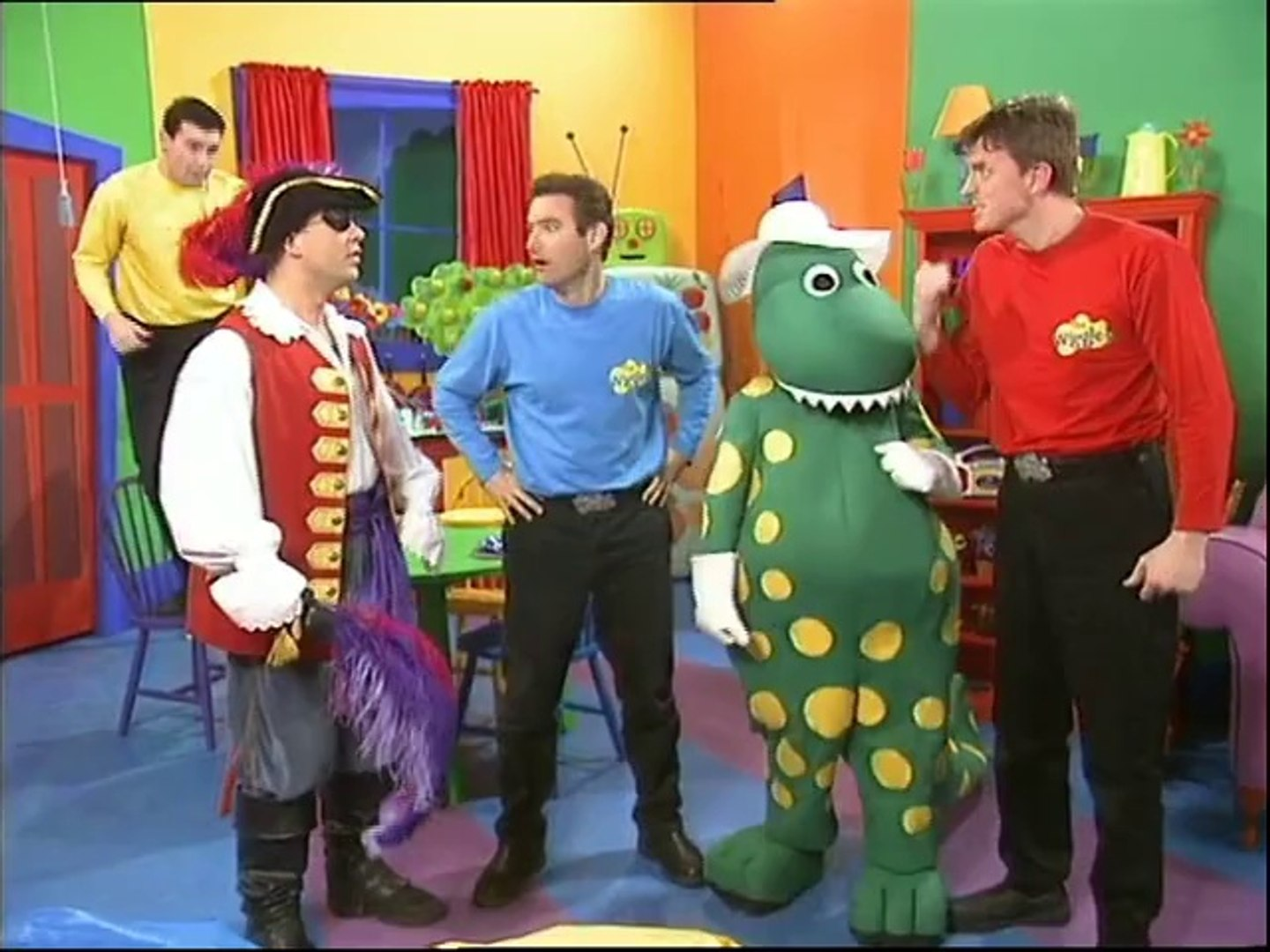 The Wiggles (TV Series 1): Spooked Wiggles - video dailymotion