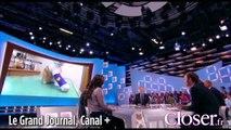 """Oscar, le chat martyrisé, interviewé par Antoine de Caunes dans """"Le grand journal"""""""