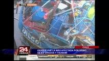Iquique fue la más afectada por sismo de 8.2 grados y tsunami de casi tres metros