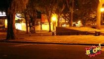 Caméra cachée : un tireur d'élite à l'arrêt du bus