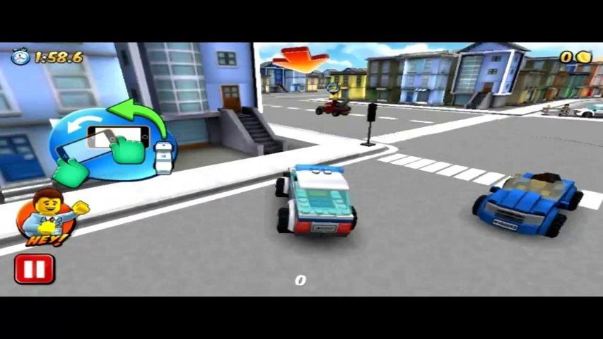 Lego City My City Police Chasing Criminal Android Gameplay