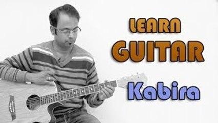 Kabira Guitar Lesson - Yeh Jawaani Hai Deewani - Arijit Singh, Pritam