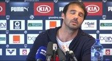Marc Planus en point presse avant Rennes