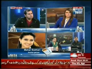 News Night With Neelum Nawab - 3rd April 2014