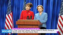 Is That Tina Fey? Nope! Jimmy Fallon Is Really Doing A Sketch With The Real Sarah Palin!