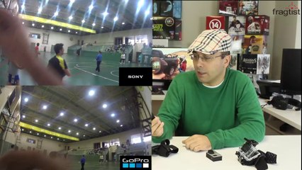 Sony HDR AS30V Action Cam'iyle Go Pro'yu karşılaştırdık