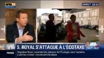 """Le Soir BFM: Écotaxe: Ségolène Royal veut remettre les """"choses à plat """" - 03/04 1/3"""