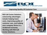 Roi Solutions LLC Call Center Service Provider