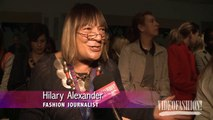 WATCH: Simone Rocha Spring/Summer 2014 London Fashion Week runway & designer interview