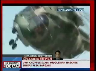 VVIP Chopper scam: Middleman haschke enters plea bargain