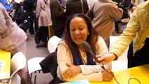 Rencontre avec Joëlle VERDOL au Salon du livre de Paris avec le ministère des Outre-mer