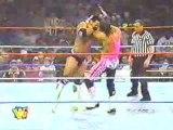 Rocky Maivia (The Rock) vs Bret Hart, WWE RAW, 1997.