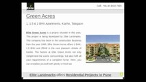 Elite Landmarks offers Residential Projects in Pune