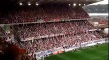 Soccer Stadium Goes Crazy With Toilet Paper